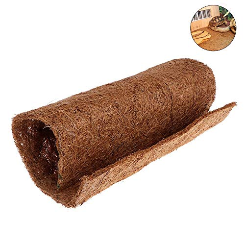 Hamiledyi Coconut Fiber Reptile Carpet Mat Liner Bearded Dragon Substrate for Snake Gecko Turtle Lizard Reptile Supplies