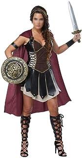 Novel Cosplay Novel Cosplay Series Ladies Halloween Costume Gladiator Uniform Spartan Mythical Warrior Costume Ancient Gre...