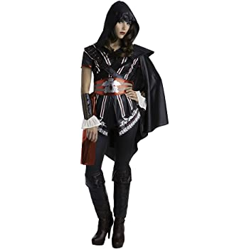 Assassins Creed Ezio Classic Womens Master Assassin Fancy dress ...