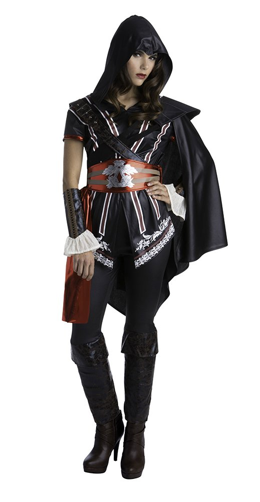 Palamon Women S Assassin S Creed Sassy Ezio Classic Costume Black