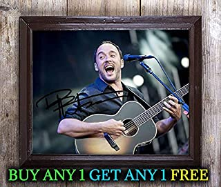 Dave Matthews Band Rock Band Cast Autographed Signed 8x10 Photo Reprint #33 Special Unique Gifts Ideas Him Her Best Friends Birthday Christmas Xmas Valentines Anniversary Fathers Mothers Day
