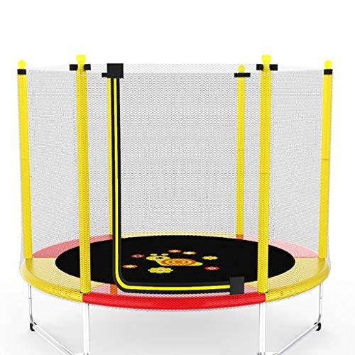 Trampolines avec Filet de sécurité - Tapis de Saut Extensible pour Enfants, intérieur/extérieur, Poids Lourds, 250 kg (Couleur : B)