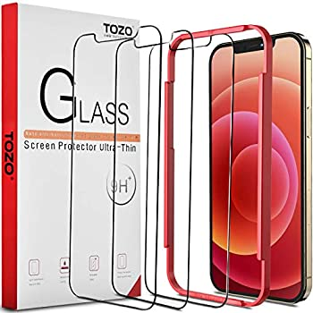 3-Pack Tozo Pro Premium Screen Protector Compatible for iPhone 12