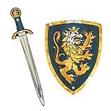 Liontouch 107LT Medieval Noble Knight Set di Gioco per Bambini, Blu | Spada Giocattolo & S...