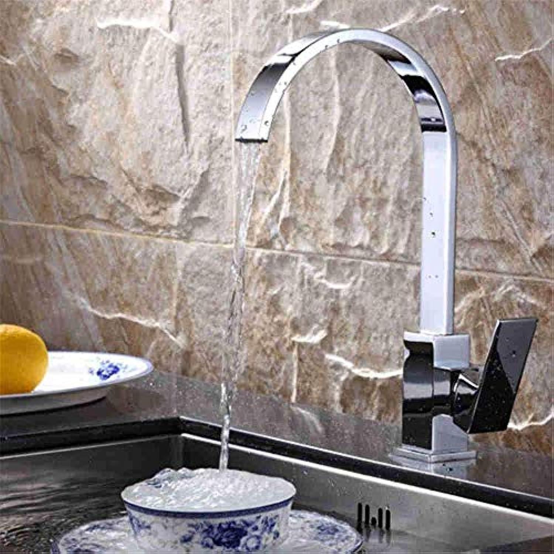 Honcx Wasserhahn 360 ° Drehbarer Wasserhahn Retro Volles Kupfer über Gegenbecken Wasserhahn Warmes Und Kaltes Wasser Becken Wasserhahn Waschbecken Wasserhahn