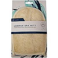 Hydrea London Natural Organic Egyptian Loofah Exfoliating Bath Mitt LMT1 by Hydrea London