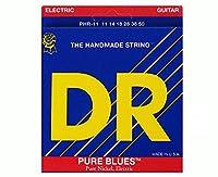 【国内正規輸入品】DR(ディーアール) PURE BLUES Pure Nickel ピュアニッケル PHR-11(11-50) エレキギター弦