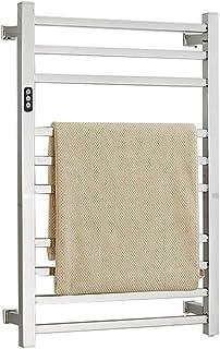 Toallero eléctrico para el hogar, radiador calentador de toallas de acero inoxidable 304 y toallero montado en la pared, ahorro de energía + desinfección + radiador de baño de secado ZDDAB