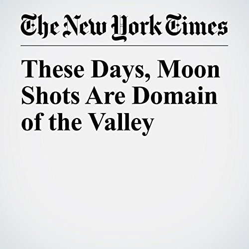 These Days, Moon Shots Are Domain of the Valley copertina