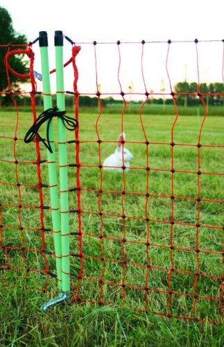ARNDT Kleintierzaun Wildschutzzaun Gartenzaun 50m x 65cm Hühnerzaun Geflügelzaun