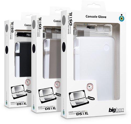 Housse de protection en silicone + dragonne + étoffe de nettoyage + protections caméra DSi XL