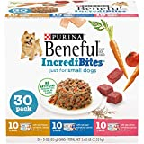 Purina Beneful Small Breed Wet Dog Food Variety Pack, IncrediBites...