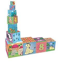 Cubes gigognes des animaux du monde en carton