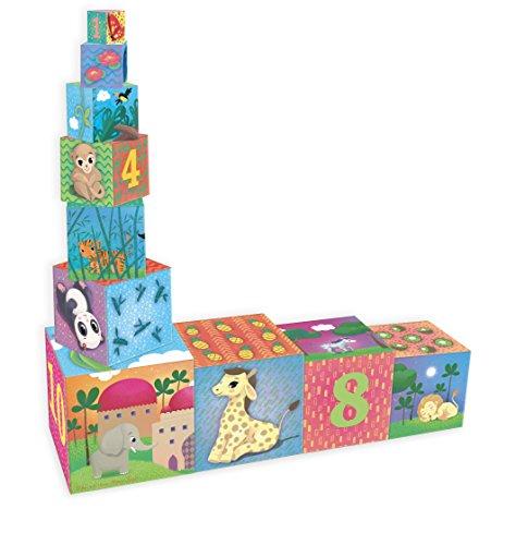 Vilac - 2481 - Cubes Gigognes Animaux Du Monde