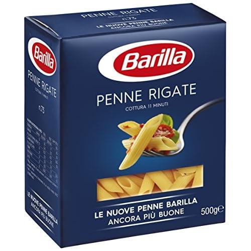 Barilla Pasta Penne Rigate Semola di Grano Duro, 500 gr