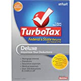 TurboTax Deluxe Federal + E-File + State 2012 for PC/Mac Disc