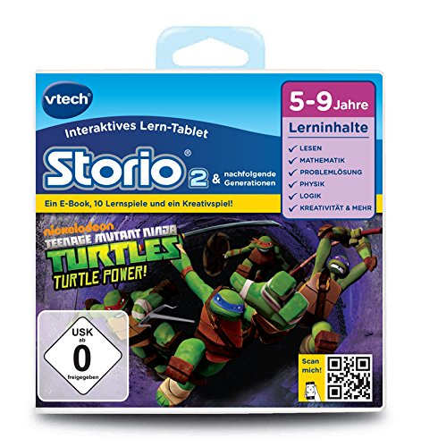 VTech 80-231304 - Lernspiel Teenage Mutant Ninja Turtles (Storio 2, Storio 3S)
