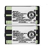 2 Piezas HHR-P104 NI-MH batería Recargable para Panasonic 3,6V 830mAh AAA batería para teléfonos inalámbricos