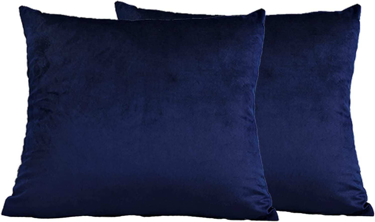 Throw Pillow Covers 18 x Set Finally resale start Color Solid Free shipping on posting reviews Velvet Outdoor of 2