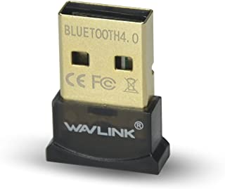 WAVLINK USB Bluetooth Adapter CSR 4.0 Dongle Receiver Transfer Wireless for Laptop PC Computer