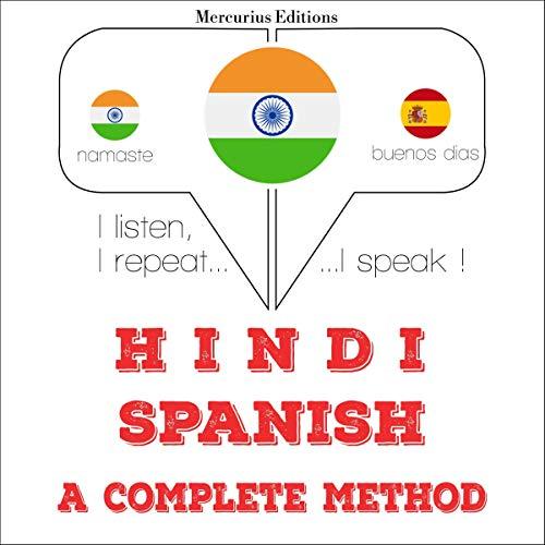 Hindi - Spanish. a complete method copertina