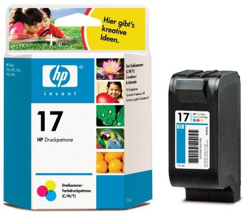 HP Tintenpatrone 17° N für HP Deskjet 816c, 825c, 840c, 843c, 845c