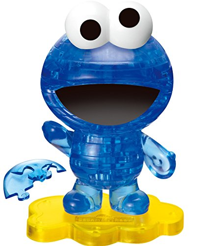 Crystal puzzle 39 piece Cookie Monster 50144 (japan import)