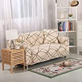 MKQB Funda de sofá elástica retráctil para Sala de Estar, Funda de sofá Modular de Esquina, Funda Protectora de sofá de casa Antideslizante Lavable N ° 2 L (190-230cm)