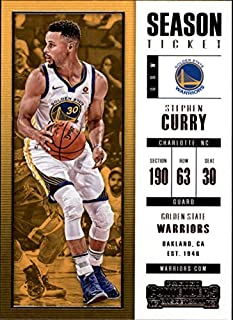 2017-18 Panini Contenders #11 Stephen Curry