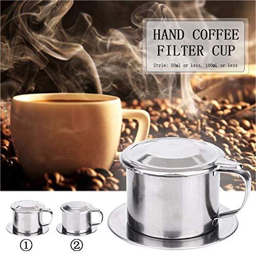 HANGON Kaffeebereiter Vietnam langlebig vietnamesische Kaffeefilter Kaffeefilter Kaffeefilter Becher tragbar Drehwerkzeug DIY Maker