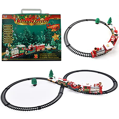 """102"""" Christmas Train Toy Set for Under Tree,..."""
