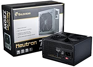 Solid Gear ATX12V/EPS12V 750-Watts Power Supply, Black SDGR-750E