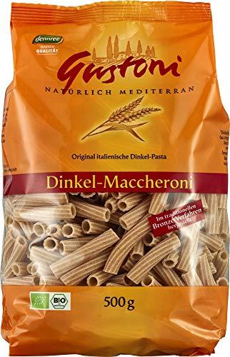 Gustoni Bio Dinkel-Maccheroni, bronze (1 x 500 gr)