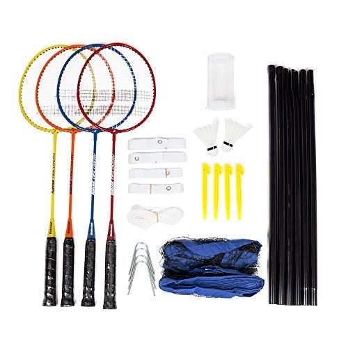 Babolat Badminton Leisure Kit X4 Pack de Entrenamiento, Adultos Unisex, Multicolor (Multicolor), Talla Única