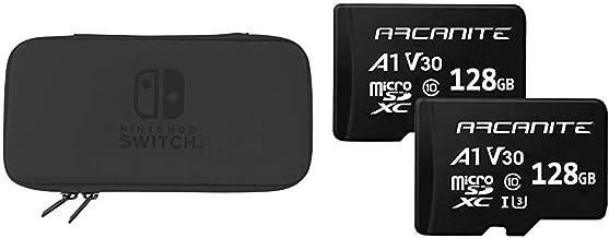 Hori, Funda Rígida Negra (Nintendo Switch Lite) + ARCANITE, pack ...