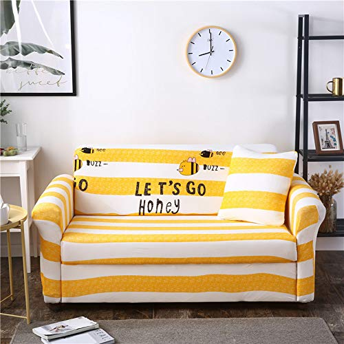 SSHHJ Modern And Fashionable Cartoon Sofa Cover For Children'S Bedroom Sofa Towel Non-Slip, Anti-Wrinkle And Pet-Scratching Sofa Chair Cover, Easy To Clean And Protect The Sofa Cushion