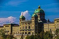 ベルンスイス連邦院都市都市大人のパズル子供1000ピース木製パズルゲームギフト家の装飾特別な旅行のお土産