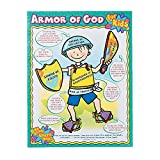 Fun Express Armor of God for Kids Chart - 1 Piece - Educational and Learning Activities for Kids