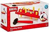 Brio- Tap'TAP - Banco para martillo, color rojo 30525 , color/modelo surtido