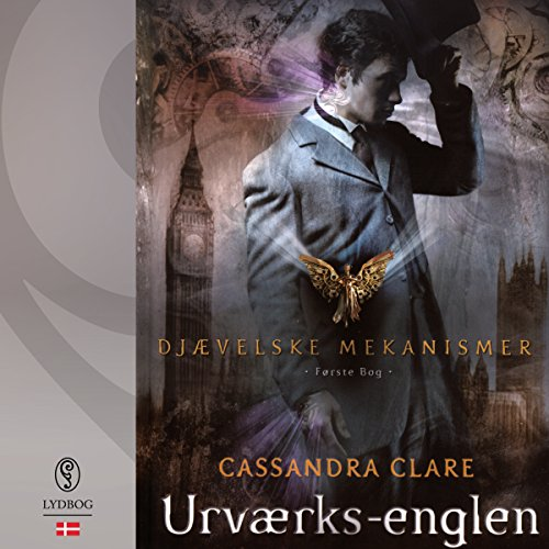 Urværks-englen audiobook cover art