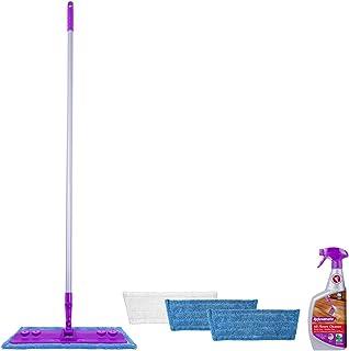 Rejuvenate Hardwood and Laminate Floor Cleaning Mop Kit, 5 Piece Set