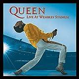 Queen Reina Live at Wembley diseño de la Portada del álbum Impresión enmarcada, Multico...