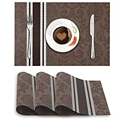 designer Washable Dinner Table Mats Set