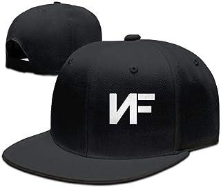 886cd9486c096 Adjustable NF Stylish Flat Baseball Cap Youth Snaback Hip Hop Hats for  Men Women