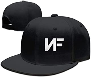 Adjustable NF Stylish Flat Baseball Cap Youth Snaback Hip Hop Hats for Men/Women