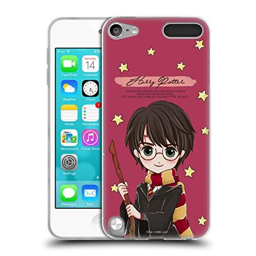 Head Case Designs Licenciado Oficialmente Harry Potter Harry Reliquias de la Muerte XXXVII Carcasa de Gel de Silicona Compatible con Apple iPod Touch 5G 5th Gen