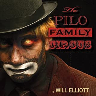 The Pilo Family Circus audiobook cover art
