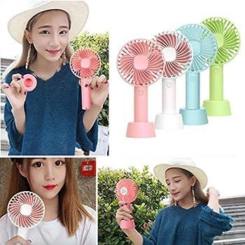 Yionloe New Portable USB Mini Mute Hand-held Fan