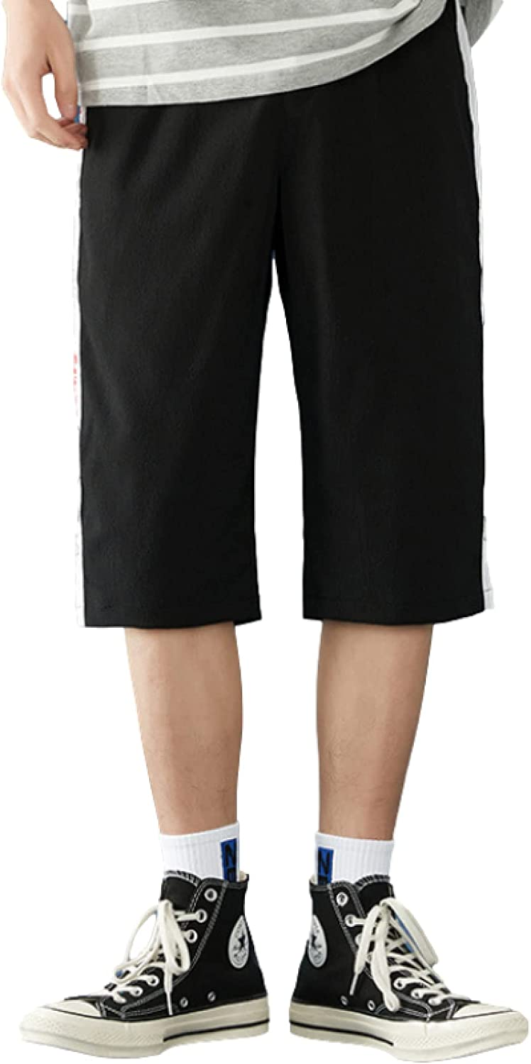 Wantess Men's Summer Thin Shorts Fashion Color Matching Trend Wild Casual Comfortable