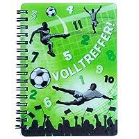 3D Notizbuch FUßBALL